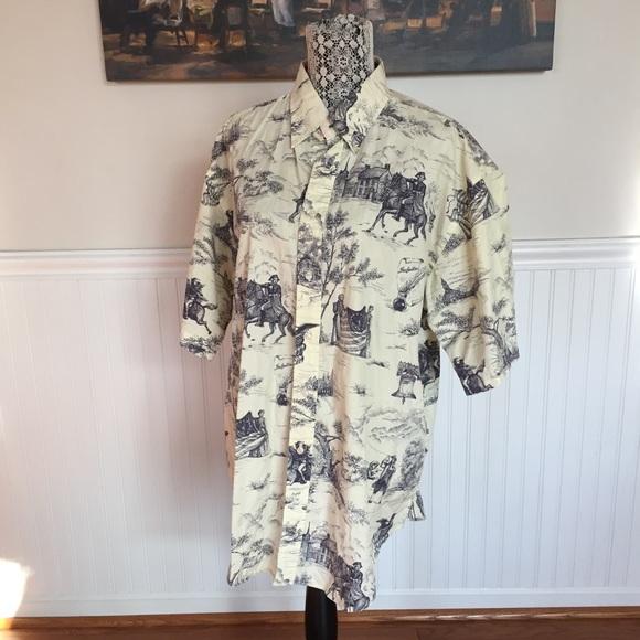 4663323e3abf7 Tommy Hilfiger Shirts   Vintage Revolutionary War Shirt   Poshmark